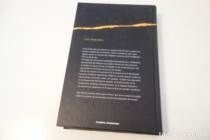 Libros de segunda mano: LOS MASONES. CÉSAR VIDAL. ENIGMAS HISTÓRICOS AL DESCUBIERTO. - Foto 6 - 163457822