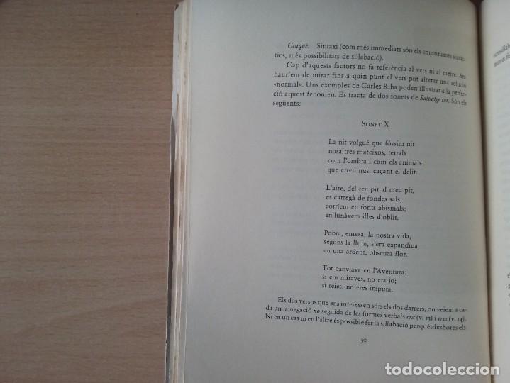 Libros de segunda mano: INTRODUCCIÓ A LA MÈTRICA (1986) - SALVADOR OLIVA - Foto 5 - 163467162