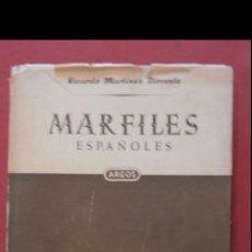 Libros de segunda mano: MARFILES ESPAÑOLES. RICARDO MARTINEZ LLORENTE. Lote 163470046