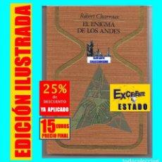 Libros de segunda mano: EL ENIGMA DE LOS ANDES ROBERT CHARROUX LAS PISTAS DE NAZCA BIBLIOTECA DE LOS ATLANTES PIEDRAS DE ICA. Lote 261841250