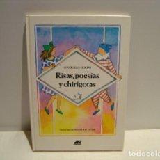 Libros de segunda mano: RISAS POESÍAS Y CHIRIGOTAS - CONSUELO ARMIJO / MARTA BALAGUER - LA POMPA DE JABÓN MIÑÓN 1984. Lote 163530810