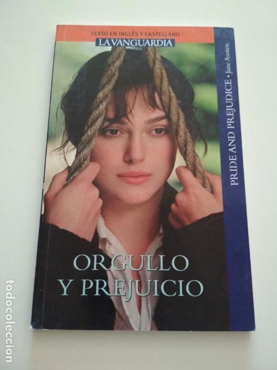ORGULLO Y PREJUICIO INGLÉS CASTELLANO LA VANGUARDIA (Libros de Segunda Mano (posteriores a 1936) - Literatura - Otros)