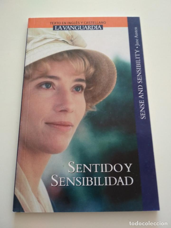 SENTIDO Y SENSIBILIDAD INGLÉS CASTELLANO LA VANGUARDIA (Libros de Segunda Mano (posteriores a 1936) - Literatura - Otros)
