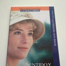 Libros de segunda mano: SENTIDO Y SENSIBILIDAD INGLÉS CASTELLANO LA VANGUARDIA. Lote 163591386