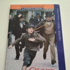 Libros de segunda mano: OLIVER TWIST INGLÉS CASTELLANO LA VANGUARDIA. Lote 163591478