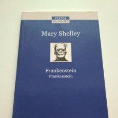 Libros de segunda mano: MARY SHELLEY FRANKENSTEIN INGLÉS CASTELLANO LA VANGUARDIA. Lote 163592138