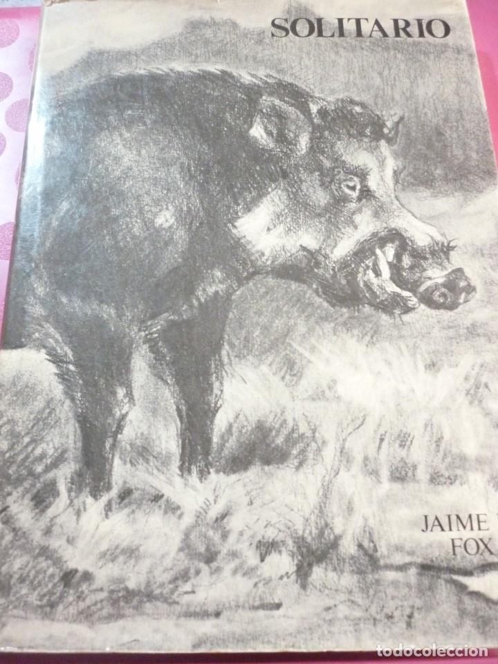 SOLITARIO. ANDANZAS Y MEDITACIONES DE UN JABALÍ, DE JAIME DE FOXÁ (Libros de Segunda Mano - Ciencias, Manuales y Oficios - Otros)