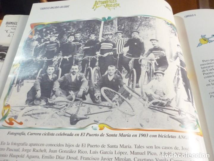 Libros de segunda mano: UN SIGLO DE AUTOMOVILISMO EN ANDALUCIA - Foto 8 - 163604502