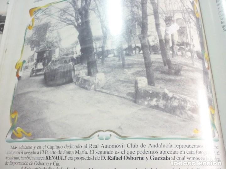 Libros de segunda mano: UN SIGLO DE AUTOMOVILISMO EN ANDALUCIA - Foto 12 - 163604502