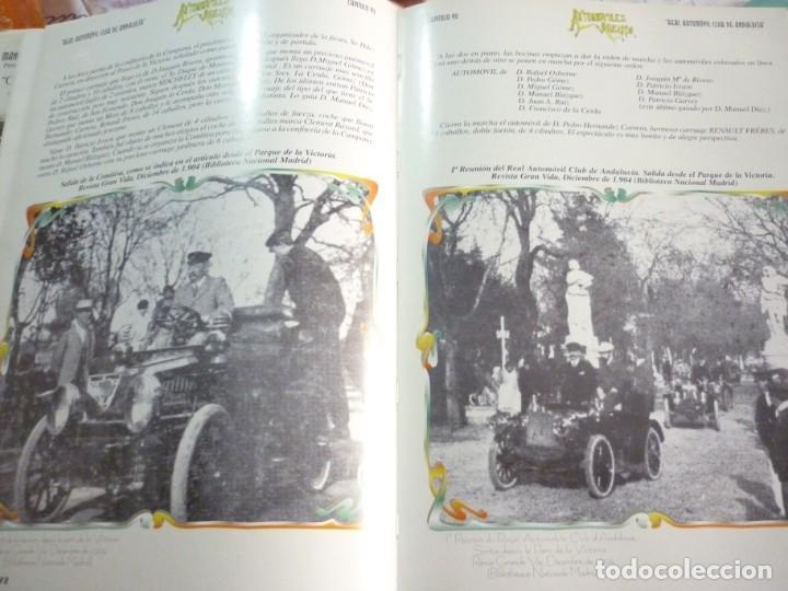 Libros de segunda mano: UN SIGLO DE AUTOMOVILISMO EN ANDALUCIA - Foto 18 - 163604502