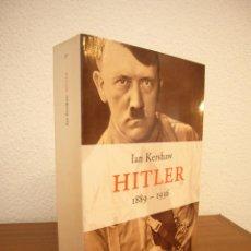 Libros de segunda mano: IAN KERSHAW: HITLER 1889-1936 (PENÍNSULA, 1999) MUY BUEN ESTADO. Lote 207219932