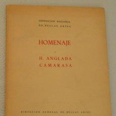 Libros de segunda mano: HOMENAJE A H. ANGLADA CAMARASA - MADRID 1954. Lote 163768830