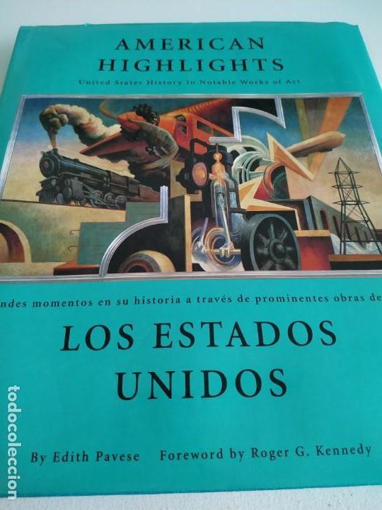 AMERICAN HIGHLIGHTS: UNITED STATES HISTORY IN NOTABLE WORKS OF ART/LOS ESTADOS UNIDOS : (Libros de Segunda Mano - Bellas artes, ocio y coleccionismo - Otros)
