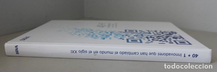 LIBRO: 40 + 1 INNOVADORES QUE HAN CAMBIADO EL MUNDO EN EL SIGLO XXI - BBVA (Libros de Segunda Mano - Ciencias, Manuales y Oficios - Otros)