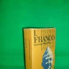 Libros de segunda mano: FRANCO, HISTORIA Y BIOGRAFÍA, BRIAN CROZIER, 2 TOMOS EN ESTUCHE. Lote 163924066