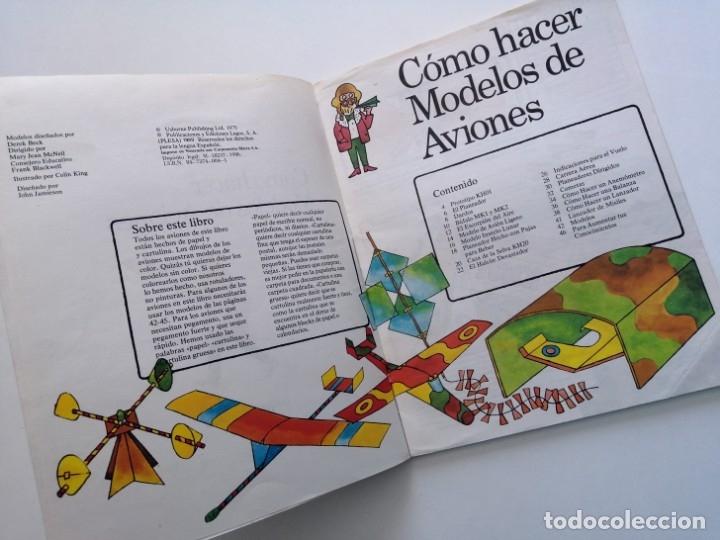 Libros de segunda mano: Cómo hacer modelos de aviones - 2 ejemplares - Fotos adicionales - Foto 28 - 127562619