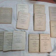 Libros de segunda mano: GALICIA BIBLIOGRAFIA - CATALOGO DE LA BIBLIOTECA UNIVERSITARIA - JOSE MARIA BUSTAMANTE Y URRUTIA 12T. Lote 163999922