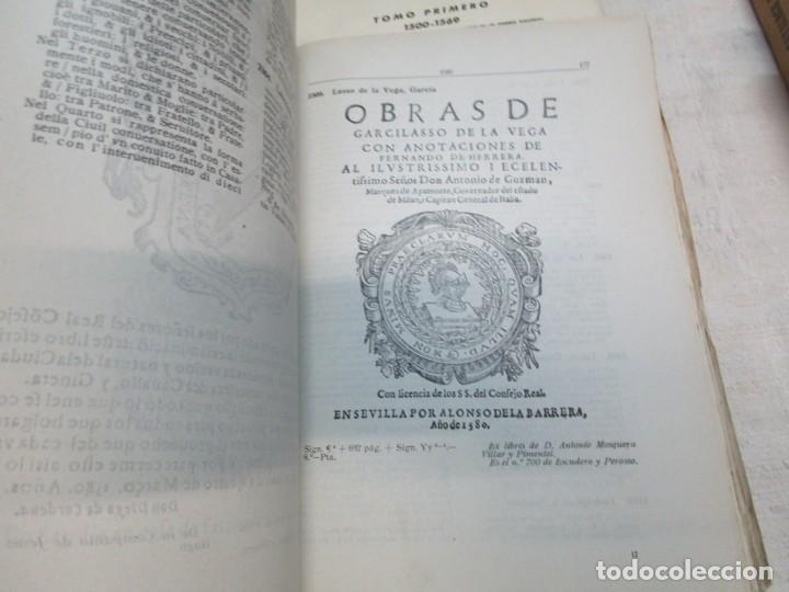 Libros de segunda mano: GALICIA BIBLIOGRAFIA - CATALOGO DE LA BIBLIOTECA UNIVERSITARIA - JOSE MARIA BUSTAMANTE Y URRUTIA 12T - Foto 10 - 163999922