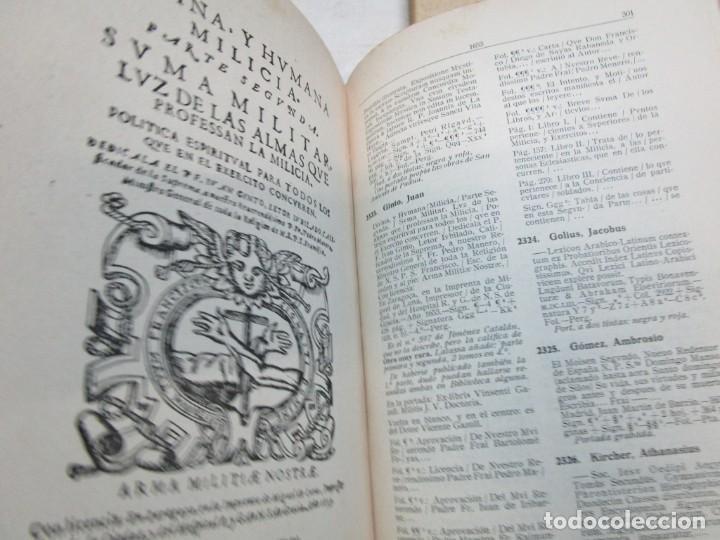 Libros de segunda mano: GALICIA BIBLIOGRAFIA - CATALOGO DE LA BIBLIOTECA UNIVERSITARIA - JOSE MARIA BUSTAMANTE Y URRUTIA 12T - Foto 11 - 163999922