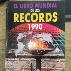 Libros de segunda mano: EL LIBRO MUNDIAL DE LOS RECORDS 1990. EDITORIAL MAEVA. Lote 164064922