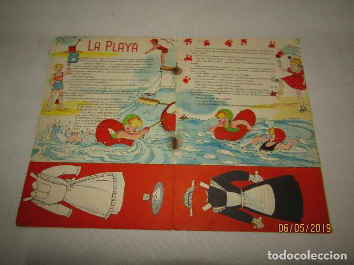 Libros de segunda mano: Nuevas Travesuras de MARI PEPA de MARIA CLARET y Emilia Cotarelo con los Recortables - Foto 3 - 164096362