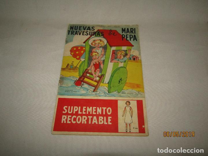 NUEVAS TRAVESURAS DE MARI PEPA DE MARIA CLARET Y EMILIA COTARELO CON LOS RECORTABLES (Libros de Segunda Mano - Literatura Infantil y Juvenil - Otros)