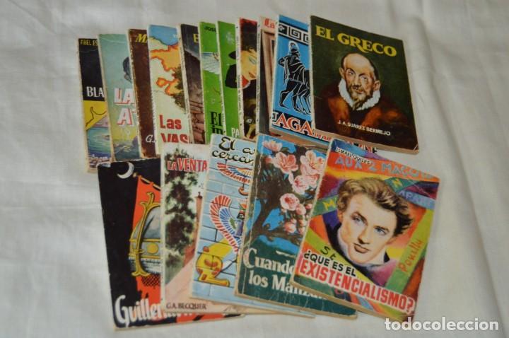 LOTE 16 LIBROS ENCICLOPEDIA PULGA - EDICIONES G.P. - MIRA FOTOGRAFÍAS Y DETALLES - ¡MIRA! (Libros de Segunda Mano (posteriores a 1936) - Literatura - Otros)