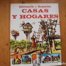 Libros de segunda mano: INFORMACIÓN Y RESPUESTAS CASAS Y HOGARES EDICIONES PLESA. Lote 164115938