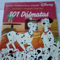 Libros de segunda mano: 101 DALMATAS. CUENTO MULTIEDUCATIVOS GAVIOTA DISNEY. Lote 164236760