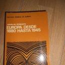 Libros de segunda mano: EUROPA DESDE 1880 HASTA 1945 - JOHN M. ROBERTS - AGUILAR. Lote 164246386