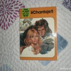 Libros de segunda mano: ¡¡CHANTAJE!!;LAURA GARCÍA ILUSTRACIONES C.PRUNÉS;FHER 1978. Lote 164269234