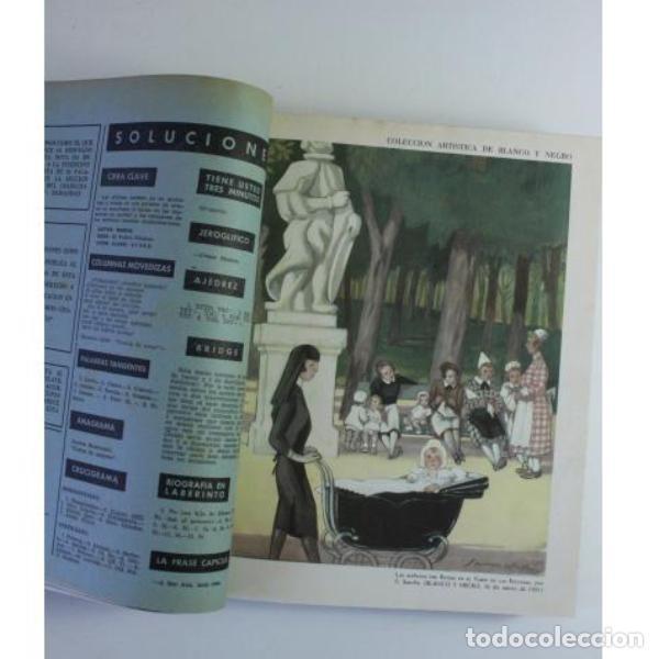 Libros de segunda mano: Seis tomos blanco y negro añoo 1959 - Foto 7 - 164278966