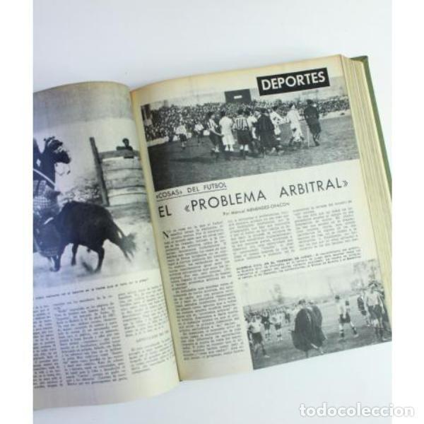Libros de segunda mano: Seis tomos blanco y negro añoo 1959 - Foto 11 - 164278966
