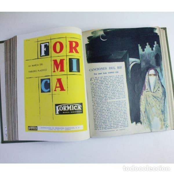 Libros de segunda mano: Seis tomos blanco y negro añoo 1959 - Foto 24 - 164278966