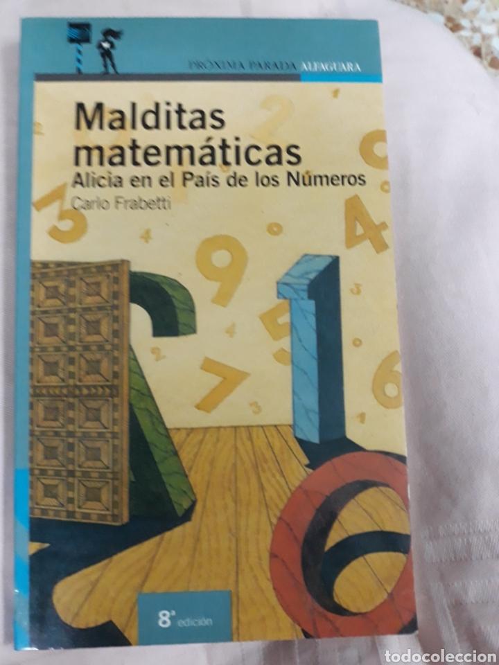 LIBRO NÚM.12 MALDITAS MATEMÁTICAS DE CARLO FRABETTI (Libros de Segunda Mano - Literatura Infantil y Juvenil - Otros)