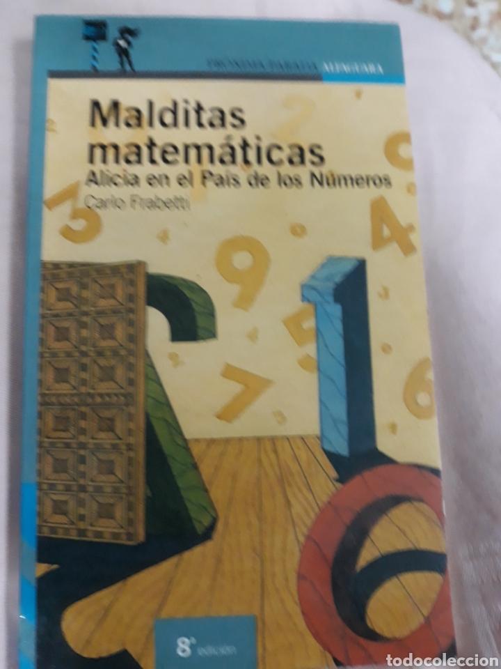 Libros de segunda mano: Libro Núm.12 MALDITAS MATEMÁTICAS DE CARLO FRABETTI - Foto 3 - 164377184