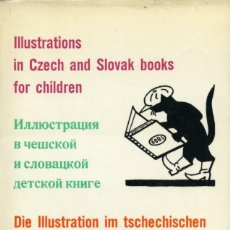 Libros de segunda mano: ILUSTRACIONES PARA NIÑOS EN LIBROS CHECOS Y ESLOVACOS. EDITORIAL SPOLECNOST. PRAGA 1977. Lote 164499602