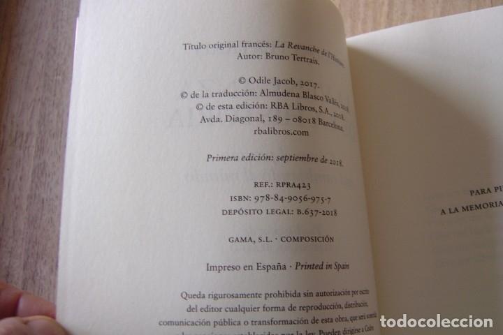 Libros de segunda mano: LA VENGANZA DE LA HISTORIA. BRUNO TERTRAIS. RBA . 1A EDICIÓN 2018 - Foto 3 - 164134734