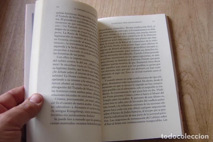 Libros de segunda mano: LA VENGANZA DE LA HISTORIA. BRUNO TERTRAIS. RBA . 1A EDICIÓN 2018 - Foto 4 - 164134734