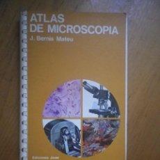 Livres d'occasion: ATLAS DE MICROSCOPIA J BERNIS MATEU. Lote 164611250