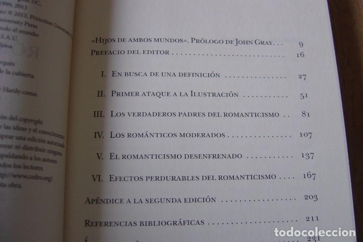 Libros de segunda mano: LAS RAÍCES DEL ROMANTICISMO. ISAIAH BERLIN.TAURUS. 1A EDICIÓN 2015 - Foto 4 - 164137086