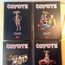 Libros de segunda mano: EL COYOTE. EDITORIAL AGUALARGA. 4 TOMOS.. Lote 164705054