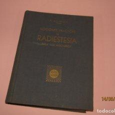 Libros de segunda mano: NOCIONES PRÁCTICAS DE RADIESTESIA PARA LOS MISIONEROS POR P. BOURDOUX EDIT. ERA NOVA DEL AÑO 1949 . Lote 164716654