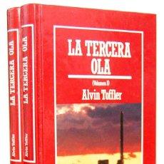 Libros de segunda mano: LA TERCERA OLA. 2 TOMOS - ALVIN TOFFLER. ORBIS. Lote 164745634