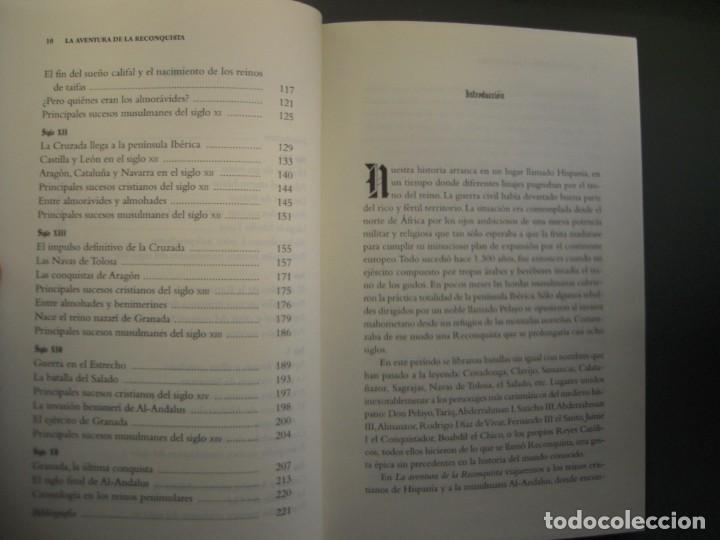 Libros de segunda mano: la aventura de la reconquista juan antonio Cebrián - Foto 3 - 164782946