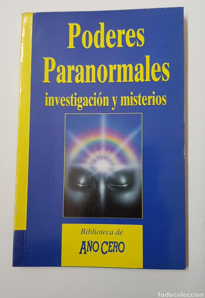 PODERES PARANORMALES INVESTIGACION Y MISTERIOS - BIBLIOTECA AÑO CERO - TDK8 (Libros de Segunda Mano - Parapsicología y Esoterismo - Otros)