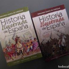 Libros de segunda mano: HISTORIA ILUSTRADA DE ESPAÑA - FERNANDO GARCÍA DE CORTAZAR. Lote 164852410