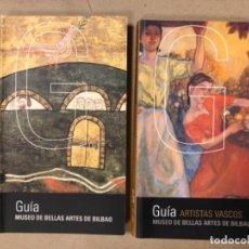 Libros de segunda mano: GUÍA DE MUSEO DE BELLAS ARTES DE BILBAO + GUÍA DE ARTISTAS VASCOS DE MUSEO DE BELLAS ARTES DE BILBAO. Lote 164862730