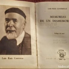 Libros de segunda mano: MEMORIAS DE UN DESMEMORIADO.COLECCIÓN CRISOL NUMERO 142. Lote 164878862