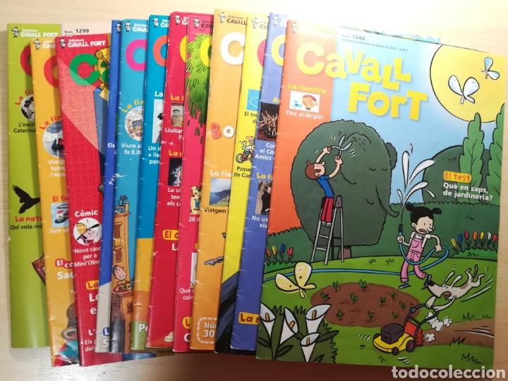 CAVALL FORT - 15 NÚMEROS (Libros de Segunda Mano - Literatura Infantil y Juvenil - Otros)